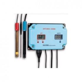 Medidor continuo de PH y EC (Hi981405N)