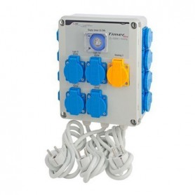 Temporizador 12x600W + activador calefacción (Timer Box II) GSE