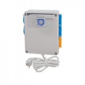 Temporizador 4x600W + activador calefacción 2000W (Timer Box III) GSE