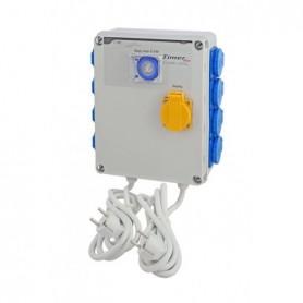 Temporizador 8x600W + activador calefacción 2000W  (Timer Box III) GSE