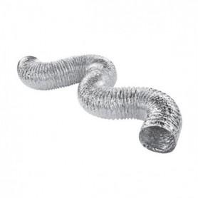 Tubo aluminio flexible 127mm (5metros)
