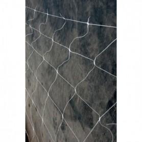 Malla cuadros blanca 2x10 M.L.