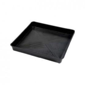 Bandeja cuadrada grande (negra) 100x100 cm