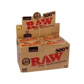 Raw 500 ¼ (20 libritos) Caja completa.