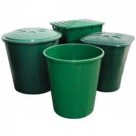 Deposito cuadrado verde 520 litros (119X77X84)