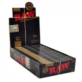 RAW Black ¼ -caja completa-