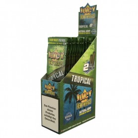 Juicy Hemp Wraps Tropical - 2x25/Box