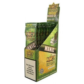 Juicy Hemp Wraps Manic- 2x25/Box