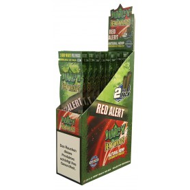 Juicy Hemp Wraps Red Alert- 2x25/Box
