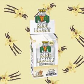 King Blunt (caja 25x5 unidades) sabor vainilla