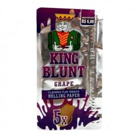 King Blunt (5 unidades) sabor uva