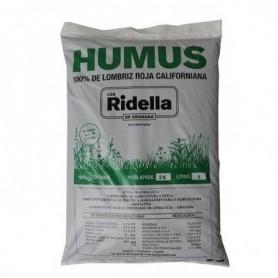 Humus de lombriz 2 kg Los Ridella