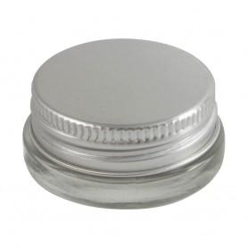 Bote cristal tapa aluminio 5ml