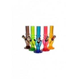 Mini Bong plástico -varios colores- 16cm
