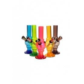 Mini Bong plástico -varios colores- 15cm