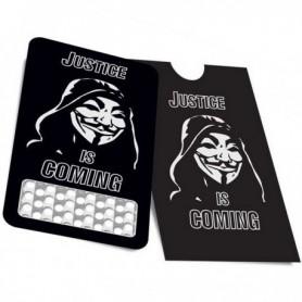 Tarjeta moledora Anonymous