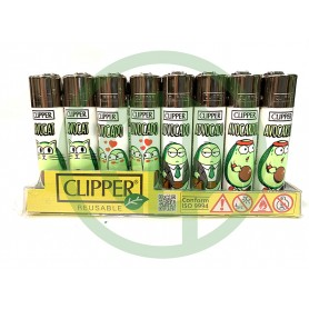Mechero Clipper Aguacate