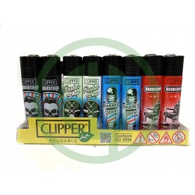 Mechero Clipper Barbershop