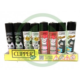 Mechero Clipper Cats