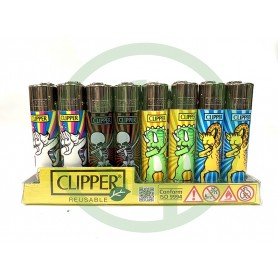 Mechero Clipper Dabs