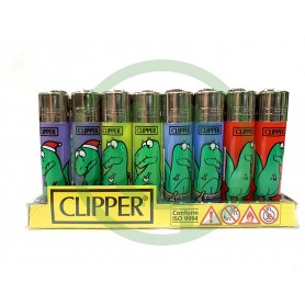 Mechero Clipper Dinos