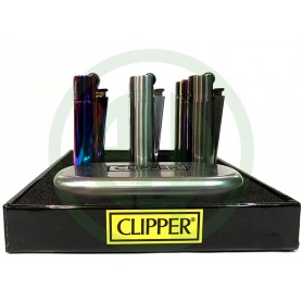 Mechero Clipper Metal