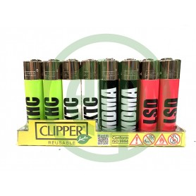 Mechero Clipper Sustancias
