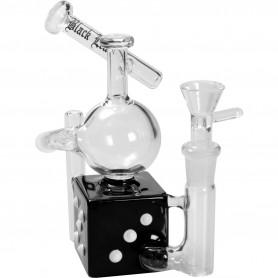 Pipa cristal bubbler reciclador