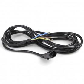 Cable 3 metros trip macho clavija inyectada
