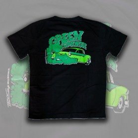 Camiseta Smelly Clothing Green Smoker