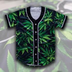 Camiseta Beisbol Verde