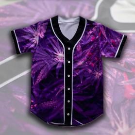 Camiseta Beisbol Morada