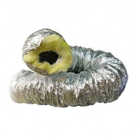 Tubo aluminio insonorizado 102mm