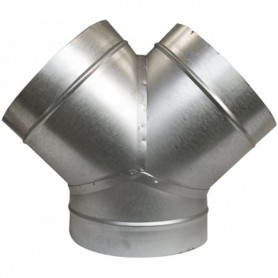 Unión metálica en Y 100 mm
