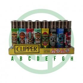 Mechero Clipper Máscara